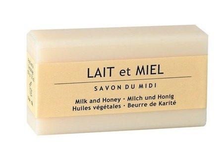 Mydło z masłem shea LAIT et MIEL (Mleko & Miód)