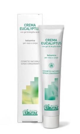 Balsamiczny krem do twarzy i ciała z eukaliptusem na przeziębienie
