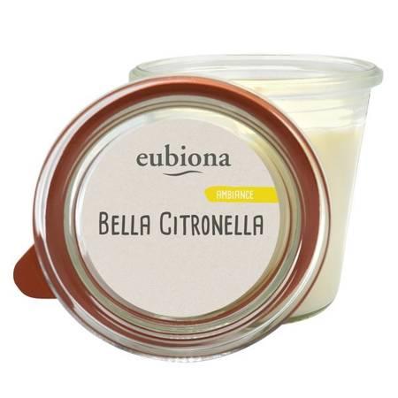 Świeca zapachowa z bio-stearyny NA KOMARY z olejkiem cytronelowym i miętowym